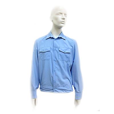 военторг рубашка полиции голубая