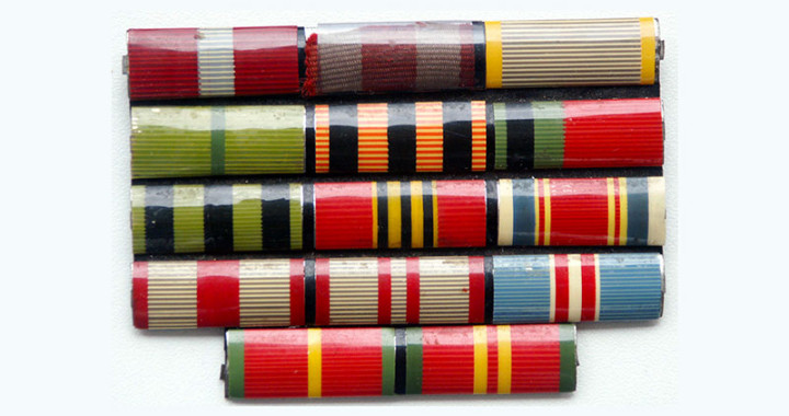 Орденские планки и колодки