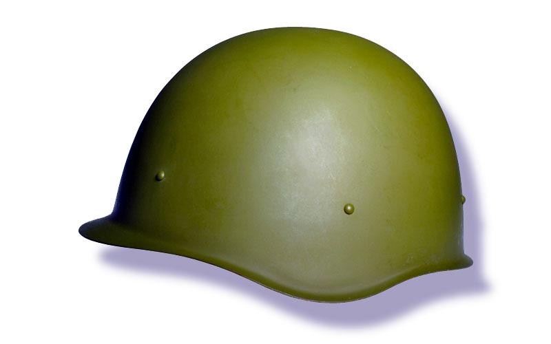 Каска стальная, солдатская